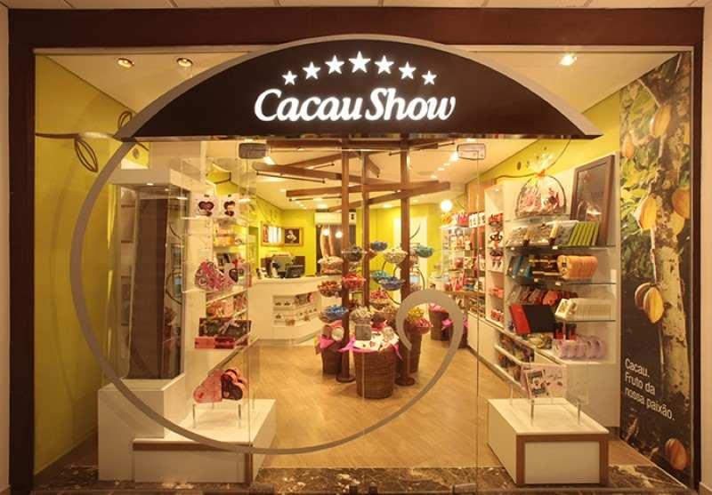 Como revender chocolates Cacau Show