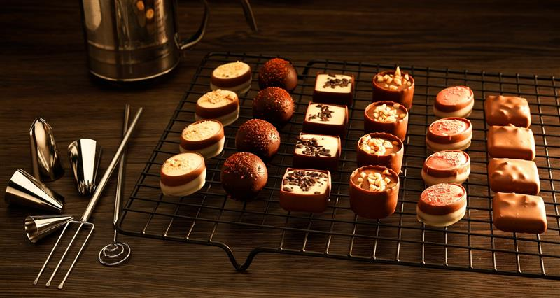 revendedor de chocolates
