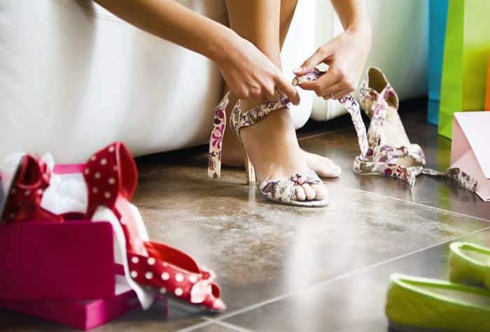 como revender calçados