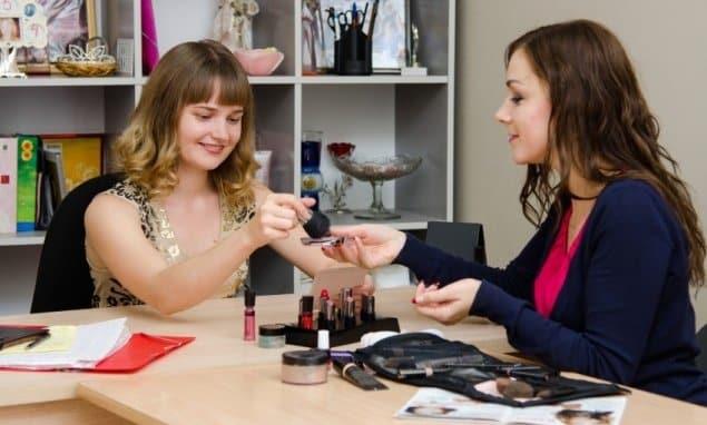 revenda de cosméticos