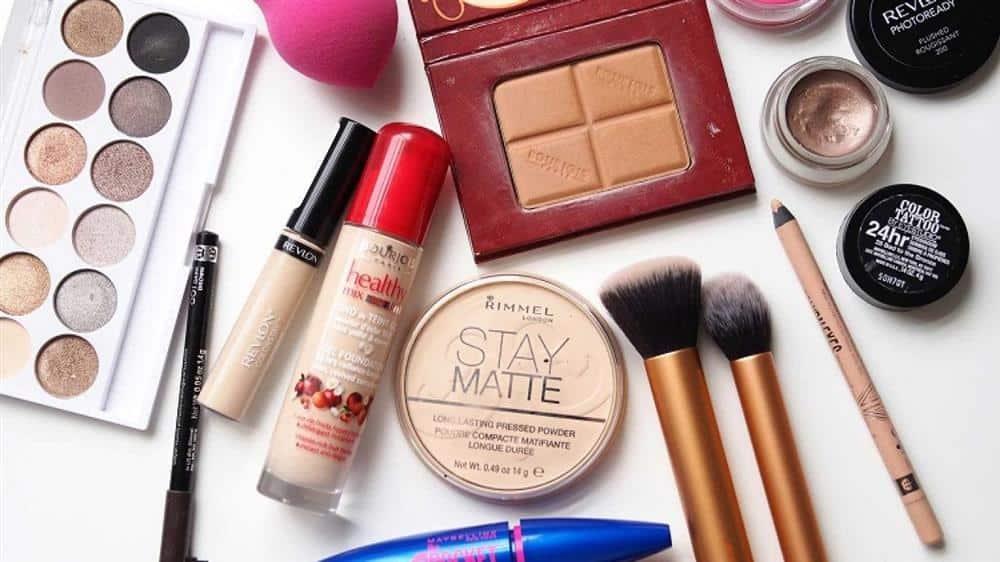 Lista de fornecedores de maquiagem