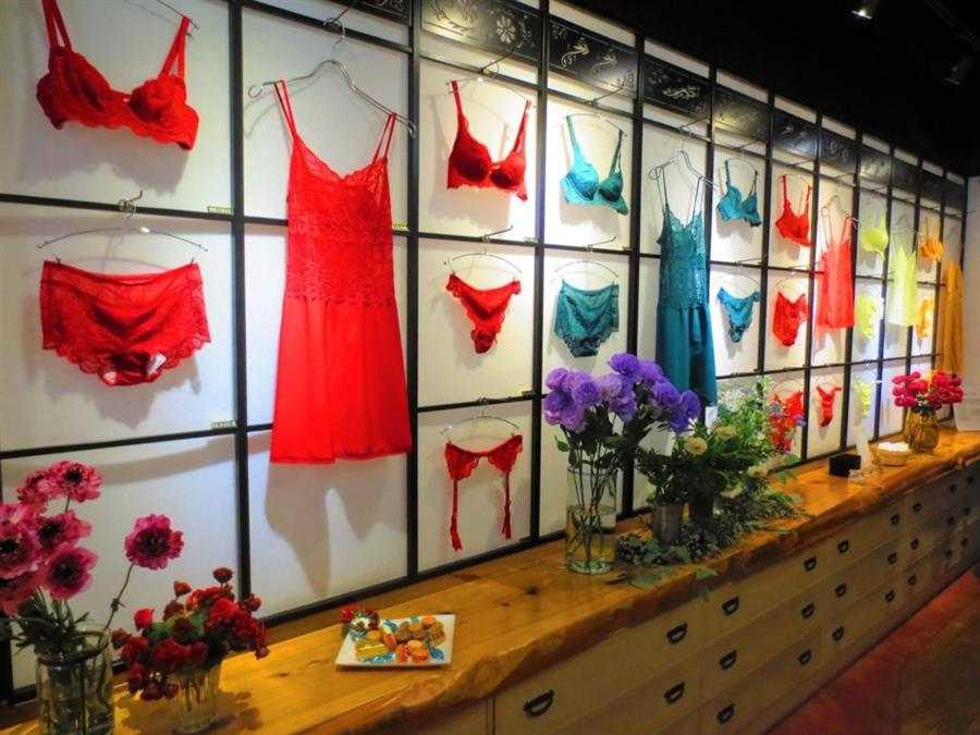 como escolher nomes para loja de lingerie